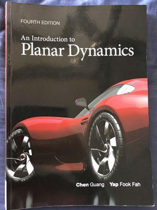 🚚 NTU Textbook - An introduction to planar dyamics