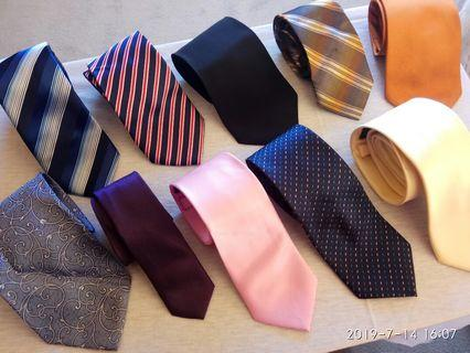 Corporate mens ties