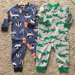 🚚 Bundle: Toddler Sleepsuit Zipper