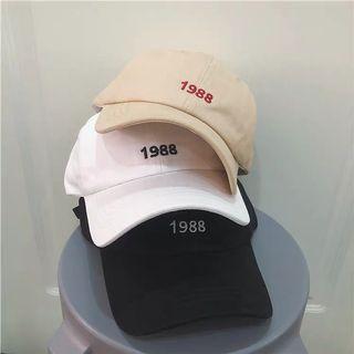 1988 韓版ins可愛卡通棒球帽子女夏天可愛 學生鴨舌帽百搭 太陽帽