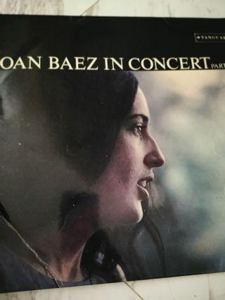 Joan baez in concert vinyl record lp