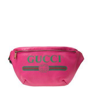 (不議價)Gucci大款腰包90cm粉色