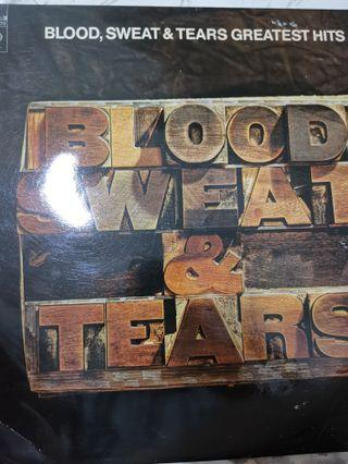 Blood sweat tears greatest hits vinyl record lp