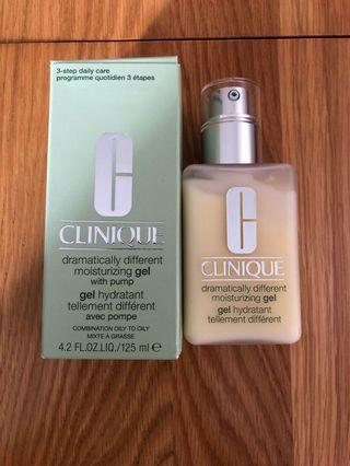 BNIB Clinique Dramatically Different Moisturising Gel,125ml