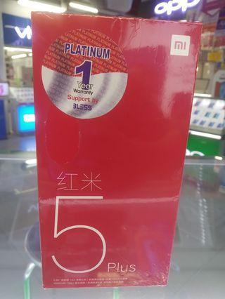 Cicilan XIOAMI Redmi 5+ 4/64 Promo Gratis 1x Angsuran