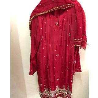 Preloved Plus Size Saree Baju Kurung