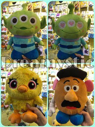 日本代購 Toystory 三眼仔 薯彈頭 呀得 公仔 現貨