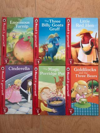 Simple English children story books part one
