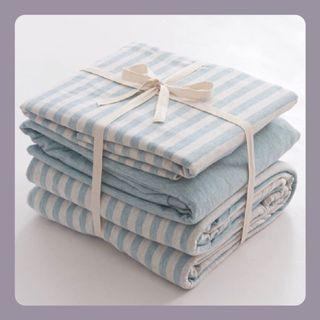 #日式天竺棉床品套裝  Japanese Style Tianzhu Cotton Bedding Set