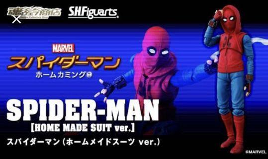 [徵] shf spider-man homemade suit 蜘蛛俠 marvel