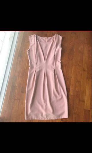 🚚 Pink Shift Dress #MRTRaffles