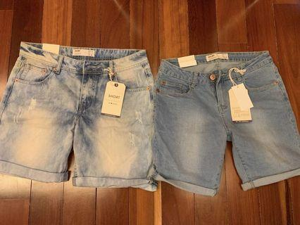 Grab 2 Jeans shorts for RM120
