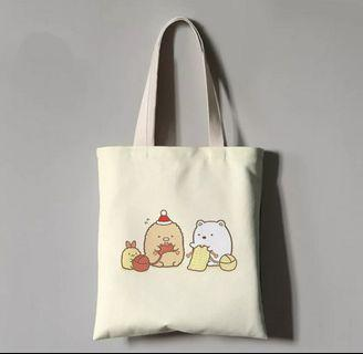 Design 2: Knitting Bears Tote Bag