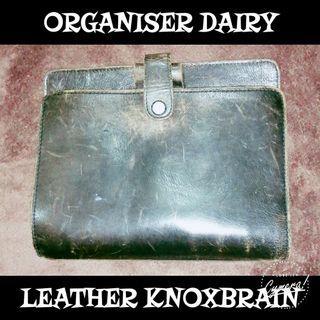 Organiser Diary Leather KNOXBRAIN