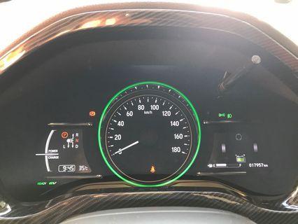 Honda vezel Carbon fibre accessories hrv steering door handles