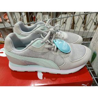 轉賣全新正版puma女鞋運動鞋慢跑鞋休閒鞋 灰色