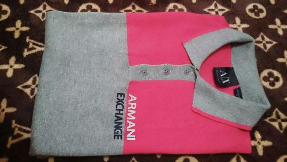 "Kaos Polo AX Armani Exchange #cek iklan lainnya bagus"" 📢📢"