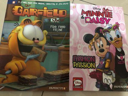 Garfield + Minnie & Daisy 英語漫畫