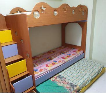 🚚 Children Bunk Bed