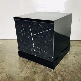 🚚 Marble Effect Side Table