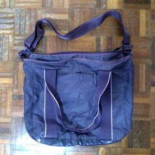 Nike waterproof sport bag sling bag purple