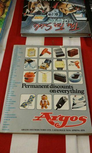 Argos Catalogue No.9 Spring 1978