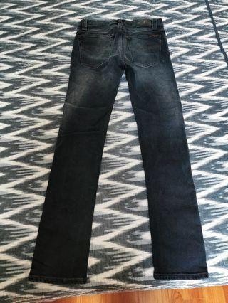 Nudie Jeans High Kai Aged Black W31 L30
