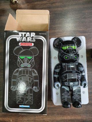 Star wars death trooper 400% Bearbrick