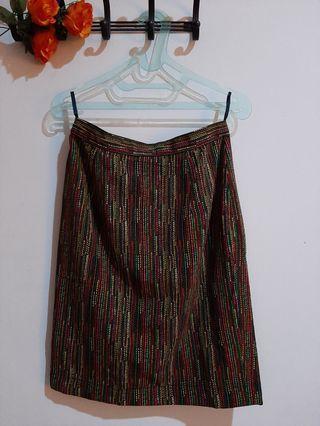 [Baju Kerja] Rok Stripes - Semi Tribal