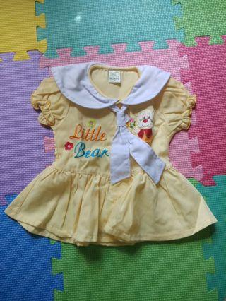 Baju rok bayi perempuan