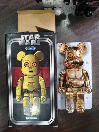 Star wars c3po 400% Bearbrick