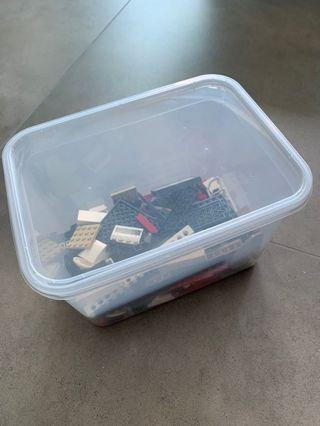 Box Of Random Legos