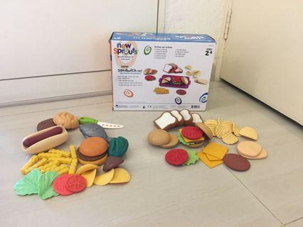 PL Learning Resources Super Sandwich Set & Misc Food