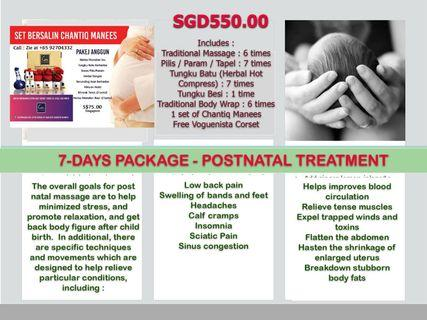 Traditional Malay Postnatal Treatment