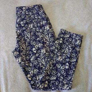 Floral Pants uniqlo
