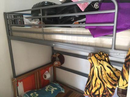 Ikea loft bed steel
