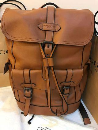 Ready Stock 22302 original coach Hudson backpack authentic traveller backpack