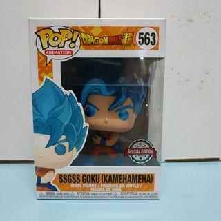 [July 2019 • Week 3] Funko POP! Dragon Ball Super - SSGSS Goku Kamehameha