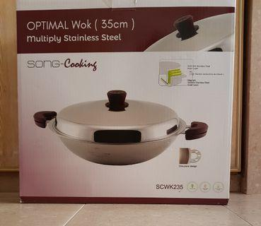 Song-Cho Optical Wok (35 cm)