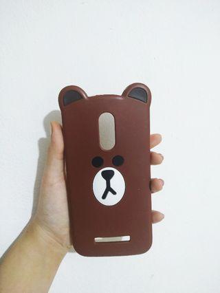 Case Kartun Line Brown - Xiaomi Note 3 Pro