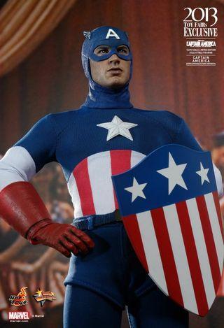 Hot Toys Captain America Star Spangled Man