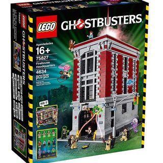 絕版 靚盒 行貨 lego 75827 Ghostbusters 捉鬼敢死隊 21108