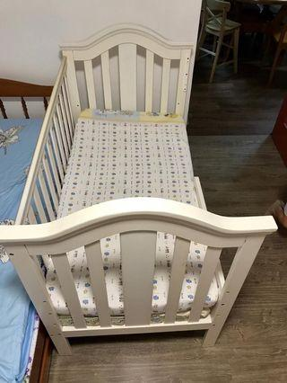 Baby toddler cot wooden not ikea