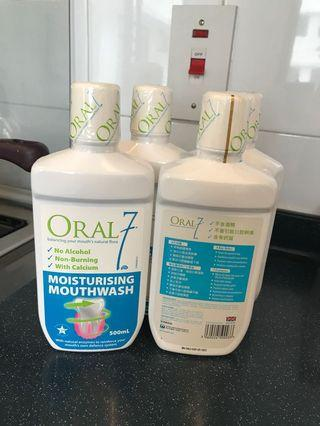 英國Oral  7 Monthwash 500ml ,$280/4支(original price $492)