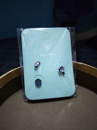 韓系耳針 耳環