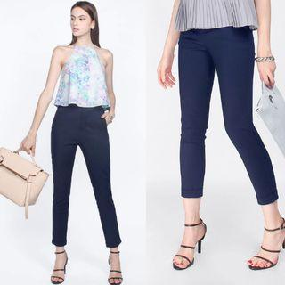 (M) Fayth Citizens High Waisted Pants in Navy