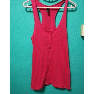 Cotton On Sleeveless Hot Pink Long Top