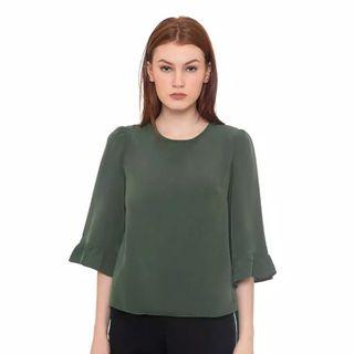 FLASH SALE olive top
