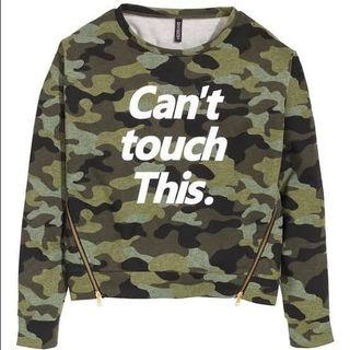 FLASH SALE H&M SWEATER ARMY