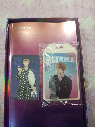 🚚 [WTT] BTS World Game Coupon and Luggage Tag